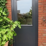 Anthracite grey Door-Stop back door