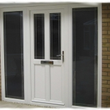Eurologik uPVC door with sidescreens