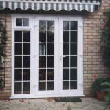 Eurologik French doors with Georgian Inserts
