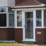 Glazed uPVC porch