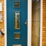 Solidor Genoa in peacock blue