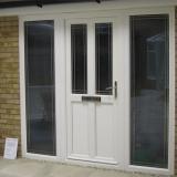 Eurologik door with Oxford leaded glass