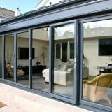 ALUK Aluminium bi-fold doors