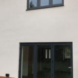 Bi-fold doors in anthracite grey