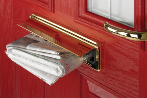 Door-Stop gold PVD hardware