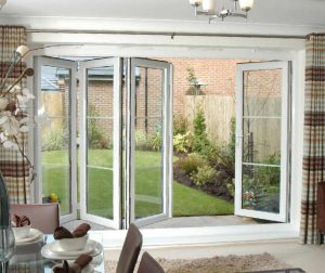 Aspect uPVC bi-fold door