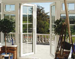 uPVC French doors in Ipswich